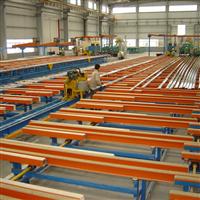 aluminum profile processing line
