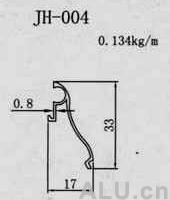purification aluminum profile