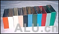 aluminium profile polychrome powder coating