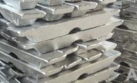 Aluminium alloy ingot, forged aluminium alloy ingot