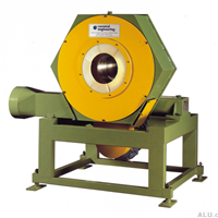 scrubbing machine for aluminium rod