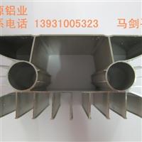 工业铝型材铝合金管LED边框壁柜门散热器隔热断桥