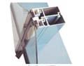 不规则隔热铝型材开模挤压成品