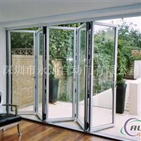 铝合金折叠门折叠门自动折叠门