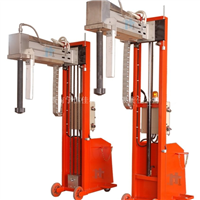 供应南宁恒佳XPC200移动式链条升降铝液除气精炼设备