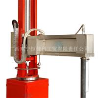 供应固定式可摆臂链条升降铝液除气机