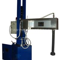 供应南宁恒佳XPC350固定式可摆臂液压升降铝液除气机