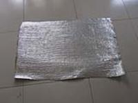 防火阻燃用单面覆铝箔陶瓷纤维布