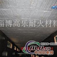 硅酸铝制品窑炉施工