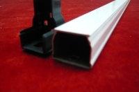 窗帘导轨铝型材(氧化金)