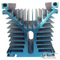繼電器Y形鋁合金散熱器,表面陽極氧化處理