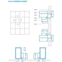 ALM150系列明框幕墙(中空)