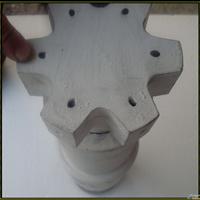 石墨转子浸渍高纯石墨及三次特殊抗氧化处理石墨转子