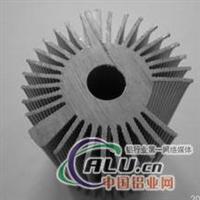 铝型材太阳花散热器