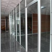 供应办公高隔间铝型材白色喷涂
