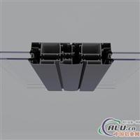本公司供应断桥隔热铝幕墙型材