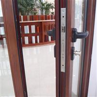 供應鋁合金氟碳鋁木復合平開門