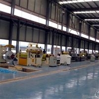 鋁板清洗貼膜生產線