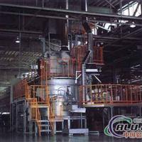 快速集中式熔铝炉三重熔铝设备