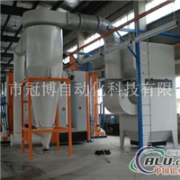 鋁型材噴粉生產線
