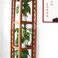 特价新型户外防腐仿木金属花架 仿木花坛图片