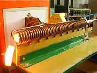 超音频铸造加热电炉