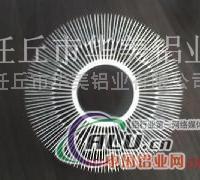 电子散热器铝合金型材