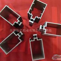 120明框、隐框幕墙型材生产过程