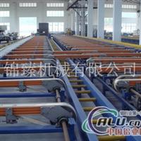 皮带式滑出台铝材设备铝材机械