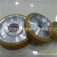 铝合金胶轮,外形美观,轻便耐用