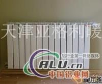 銅鋁復合暖氣片7575