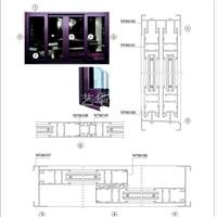 NT961系列推拉窗  艺华推拉窗