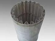 铝合金制成的重量轻波浪型过滤网