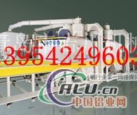 鋁型材自動輸送噴砂機