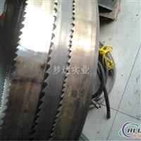 铝行业专用锯切铝型材双金属带锯条,带锯条焊接退火磨齿精修