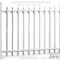 仿木围墙护栏价格 木纹金属护栏