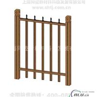 厂价金属围墙护栏 仿木围墙护栏