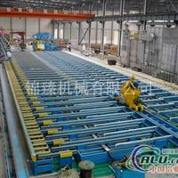 平移式滑出臺鋁型材設備擠壓生產線
