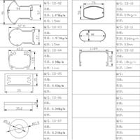 工业型材灯饰铝材