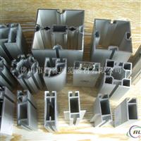 白色烤漆方铝型材展架 会展标摊特装专项使用展示架铝料 甘肃四槽八槽方通立柱成批出售工厂
