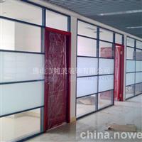 高隔间玻璃隔墙隔断型材质量保证