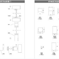 XY46系列地弹簧门