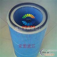 过滤碳粉用高精密覆膜粉尘滤芯