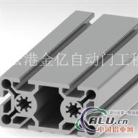 5050工业铝型材在旋转门中运用