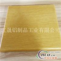 贴实木皮铝单板
