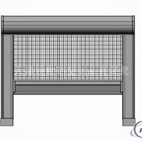 供应铝塑型材往复式自动启闭纱窗