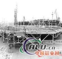 海工装备铝合金H型结构工字铝材