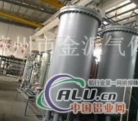 合金铝锭用氮气保护