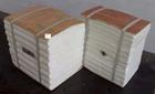 硅酸铝复合纤维吊顶棉块 厂家直供保温节能材料