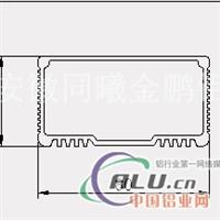 安徽工业铝型材,散热器铝材蚌埠厂家